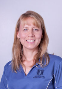 physiotherapist Alix Rasi